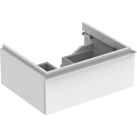 Keramag iCon Vanity unit 840260 595x240x477 mm, Alpine high gloss