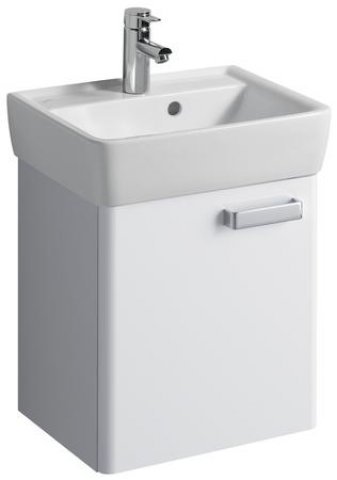 keramag renova nr 1 plan handwaschbecken unterschrank 879350 410x463x350mm weiss 879350000. Black Bedroom Furniture Sets. Home Design Ideas
