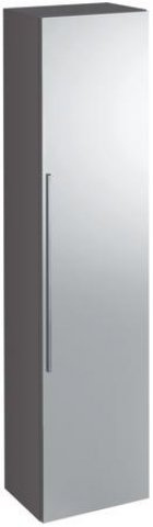 keramag icon spiegelschrank 840152 360x1500x292 mm platin. Black Bedroom Furniture Sets. Home Design Ideas