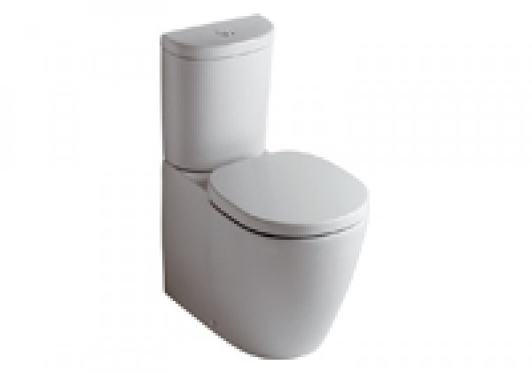 Ideal Standard Connect washdown WC combination E8234, horizontal internal outlet...
