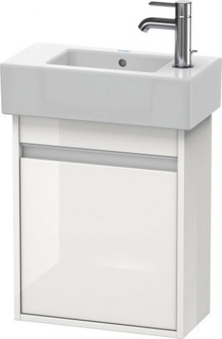 Duravit Ketho Vanity unit wall-mounted 6629, 1 wooden door, right-hinged, 450mm, for Vero