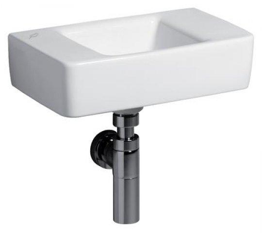 keramag renova nr 1 plan handwaschbecken 40x25cm ohne hahnloch ohne berlauf 272141. Black Bedroom Furniture Sets. Home Design Ideas