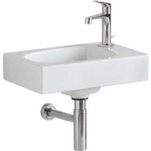 keramag citterio handwaschbecken 123545 ohne berlauf hahnloch rechts 450x300mm 123545. Black Bedroom Furniture Sets. Home Design Ideas