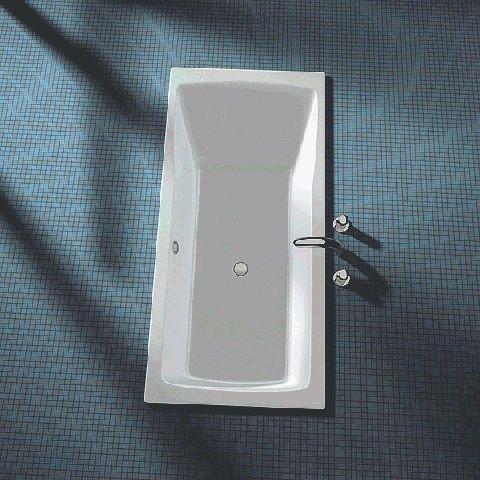 koralle rechteck badewanne facette 190x90 berlauf vorne wei k62220000. Black Bedroom Furniture Sets. Home Design Ideas
