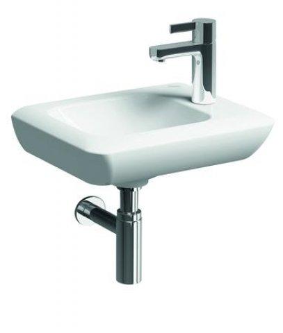 keramag it handwaschbecken ohne berlauf 271940 400x280mm hahnloch rechts 271940. Black Bedroom Furniture Sets. Home Design Ideas