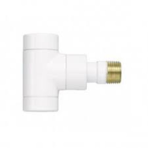 Zehnder return flow fitting series XE, corner type 1/2