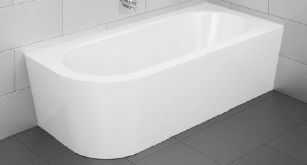 Bette Starlet V Silhouette, 175x80cm, Steel bathtub, installation in right corne...