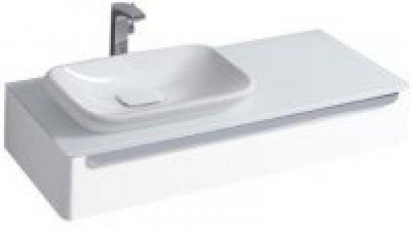 keramag myday waschtischunterschrank 1150x200 wei matt inkl led beleuchtung 824263000. Black Bedroom Furniture Sets. Home Design Ideas