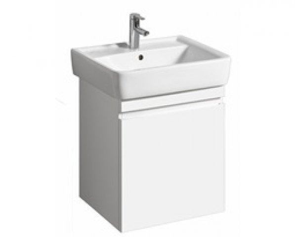 Keramag Renova Nr.1 Plan Vanity unit 869600 526x586x438mm, white high gloss