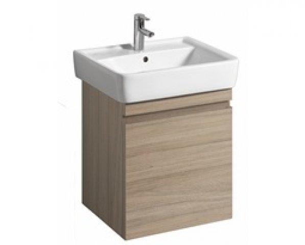 Keramag Renova Nr.1 Plan Vanity unit 869602 526x586x438mm, elm brushed