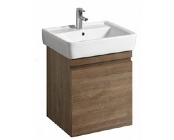 Keramag Renova Nr.1 Plan Vanity unit 869603 526x586x438mm, oak natural dark