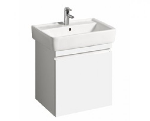 Keramag Renova Nr.1 Plan Vanity unit 869650 576x586x438mm, white high gloss