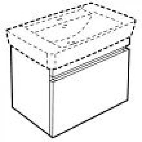 keramag renova nr 1 plan waschtischunterschrank 869851. Black Bedroom Furniture Sets. Home Design Ideas