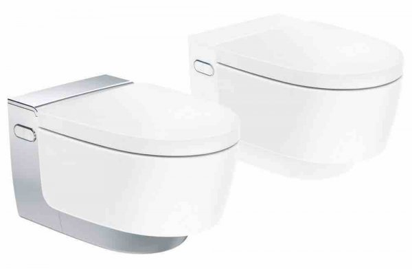Geberit AquaClean Mera Comfort Complete WC system, flush-mounted, wall-mounted W...