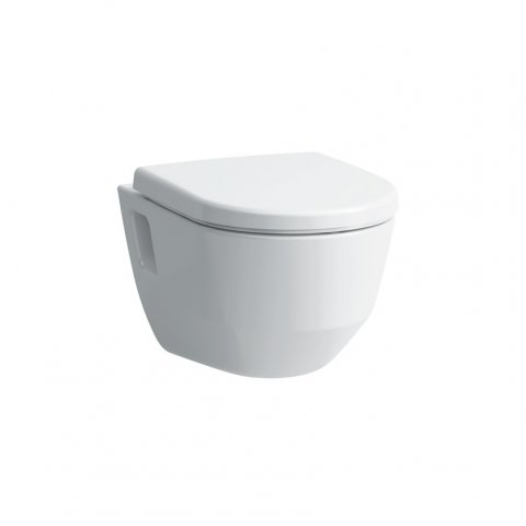 Running PRO Wall Wash-down WC, flush rimless, open mounting, 360x530, white