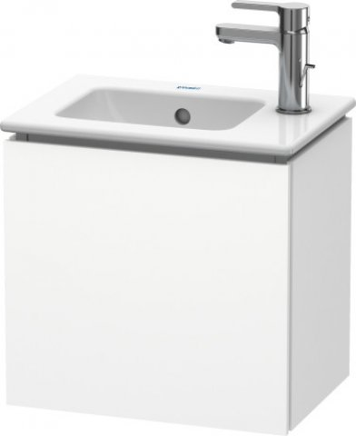 Duravit L-Cube vanity unit wall-hung, 1 door, right hand hinge, 420mm, for Me by Starck 072343