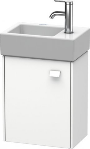 Duravit Brioso Vanity unit wall-mounted 36.4.0 x 23.9 cm, 1 door, for wash basin Vero Air 072438