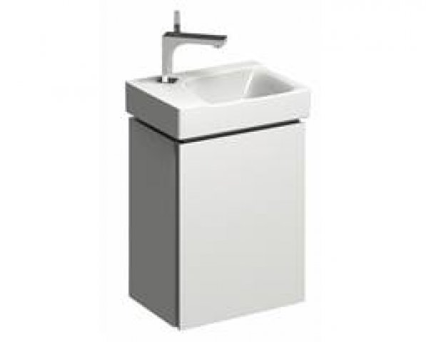 Geberit Xeno 2 Hand-rinse basin vanity unit 500.502. 380x525x265mm, 1 door