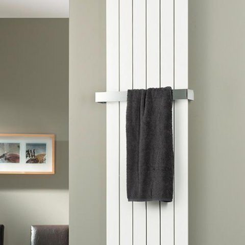 HSK towel rail 510 mm, suitable for Atelier Line and Alto design radiators