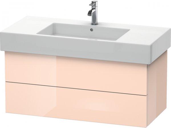 duravit delos waschtischunterschrank wandh ngend 6321 2 schubk sten 1000mm f r vero dl63210. Black Bedroom Furniture Sets. Home Design Ideas