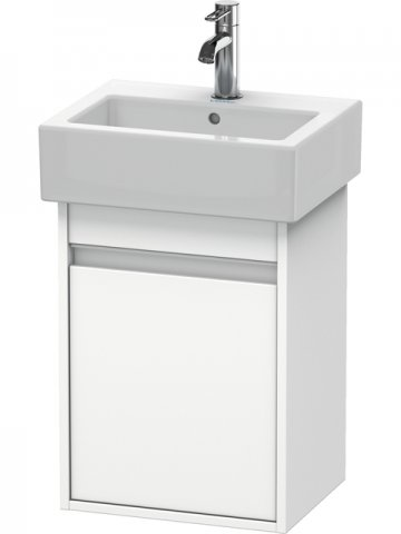 Duravit Ketho Vanity unit wall-mounted 6630, 1 wooden door, left-hinged, 400mm, for Vero