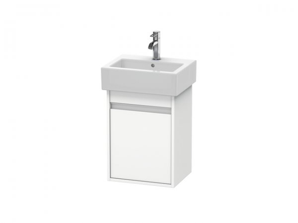 Duravit Ketho Vanity unit wall-mounted 6630, 1 wooden door, right-hinged, 400mm, for Vero