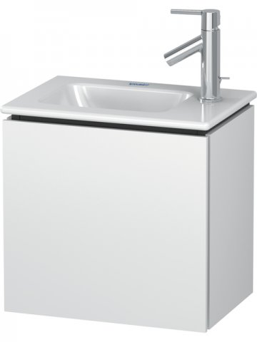 Duravit L-Cube Vanity unit wall-mounted, 1 door, left-hinged, 420mm, for Me by Starck 072343
