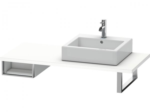 duravit vero unterschrank f r konsole 6546 1 offenes fach 300mm ve65460. Black Bedroom Furniture Sets. Home Design Ideas
