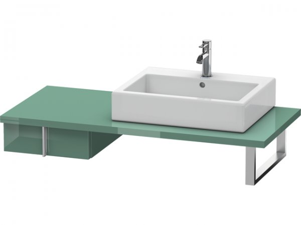 duravit vero unterschrank f r konsole 6567 1 schubkasten 400 mm ve65670. Black Bedroom Furniture Sets. Home Design Ideas