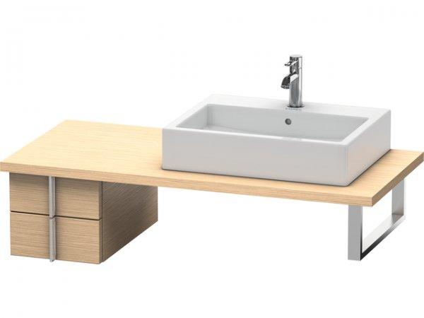 duravit vero unterschrank f r konsole 6576 2 schubk sten 300mm ve65760. Black Bedroom Furniture Sets. Home Design Ideas