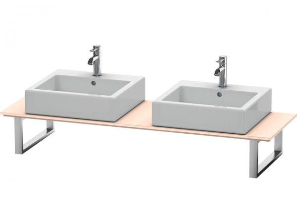 duravit x large konsole f r aufsatzbecken und einbauwaschtische 048c mit zwei ausschnitten. Black Bedroom Furniture Sets. Home Design Ideas