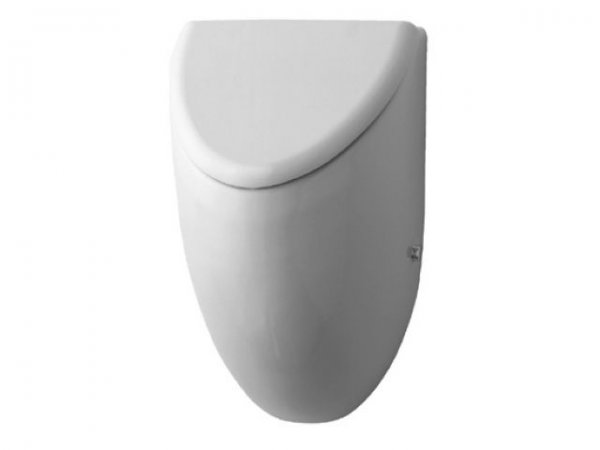 Duravit Urinal Fizz, suction inlet from behind, for lid, white