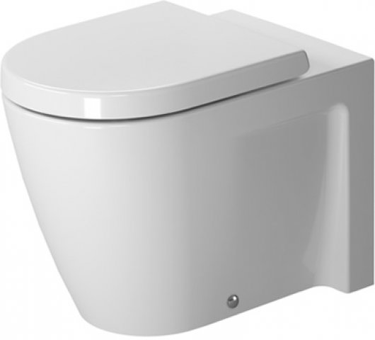 duravit starck 2 stand wc tiefsp ler abgang waagrecht 2128090000. Black Bedroom Furniture Sets. Home Design Ideas