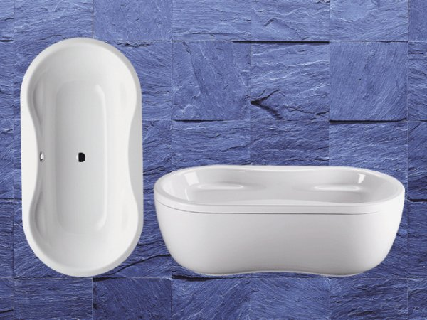 kaldewei mega duo oval 184 180x90cm 22380001. Black Bedroom Furniture Sets. Home Design Ideas
