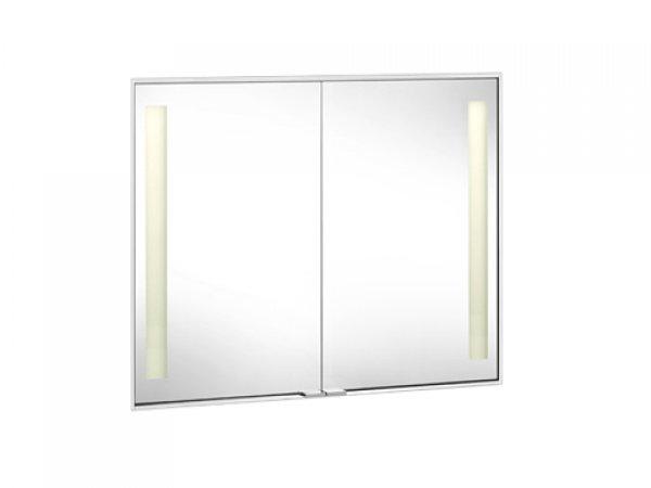 keuco royal integral spiegelschrank 26009 beleuchtet abdeckprofil 15mm 911mm 26009171304. Black Bedroom Furniture Sets. Home Design Ideas