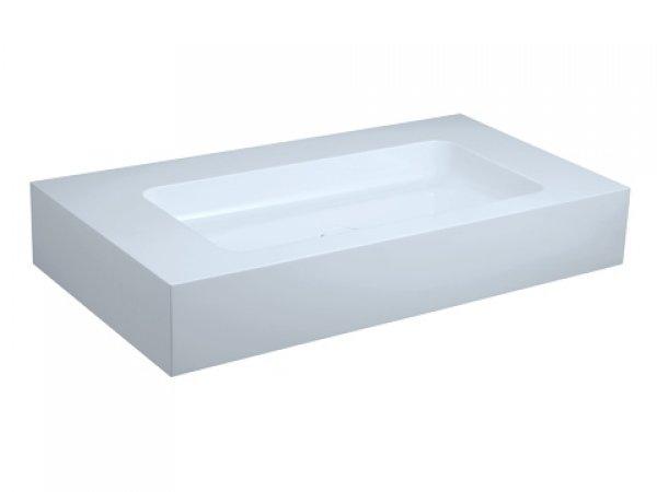 keuco edition 300 waschtisch 30380 950x155x525mm ohne hahnlochbohrung wei 30380310000. Black Bedroom Furniture Sets. Home Design Ideas