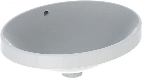 keramag variform einbauwaschtisch oval 500x400mm ohne. Black Bedroom Furniture Sets. Home Design Ideas