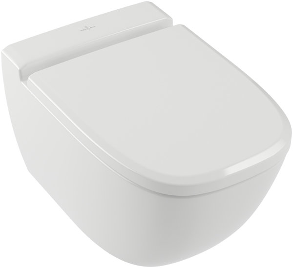 Villeroy & Boch Antheus WC 4608R0 flush rimless, 375 x 560 mm, wall hung, ho...